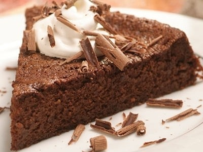 Ricetta torta di polenta e cioccolato