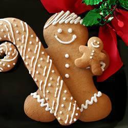 Gingerbread cookies (biscottini di natale allo zenzero)