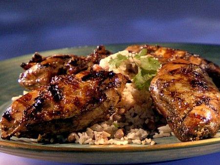 Ricetta jerk di pollo con riso e fagioli