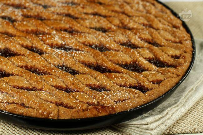Ricetta crostata speziata con confettura di fragole