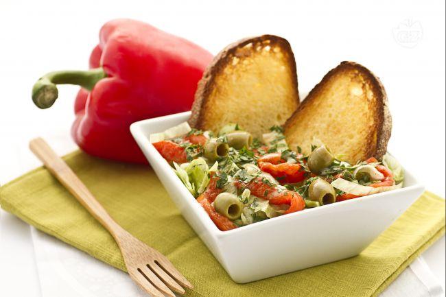 Ricetta insalata di sedano e peperoni