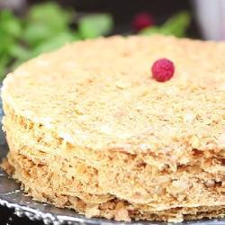 Torta napoleone (millefoglie alla russa)