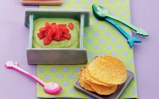 Ricetta guacamole di piselli