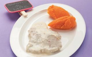 Ricetta arrosto di vitello al latte con purè di carote
