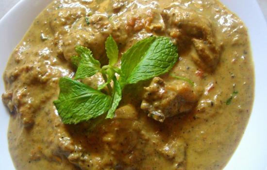 Pollo alla crema di peperoni  microonde