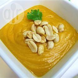 Vellutata africana di patate dolci e arachidi