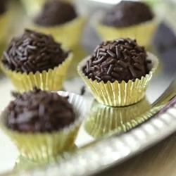 Brigadeiro (dolcetti al cioccolato brasiliani)