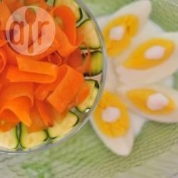 Crudité all'uovo acido