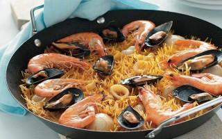 Ricetta paella di fideos