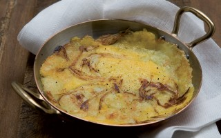 Ricetta polenta e patate rostide