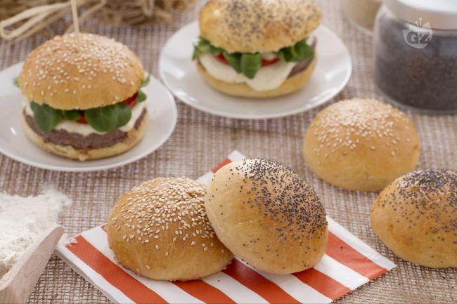 Ricetta burger buns (panini da burger)