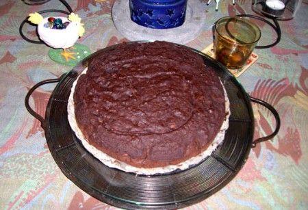 Ricetta torta di riso al cioccolato