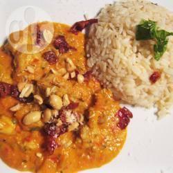 Pollo al curry indonesiano