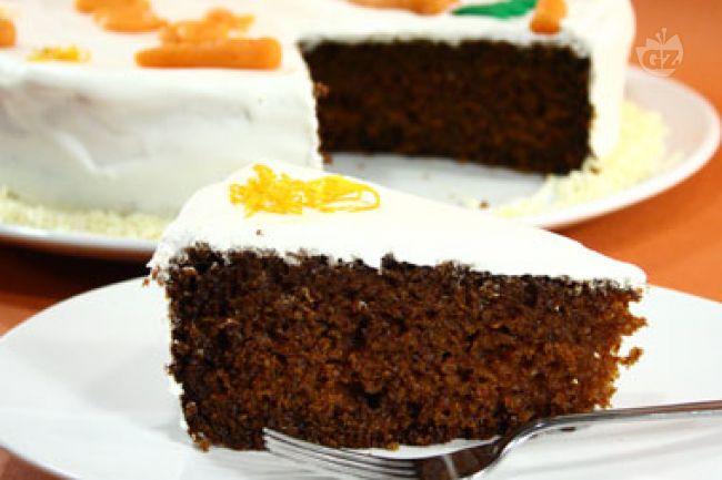 Ricetta torta di carote all'inglese o carrot cake