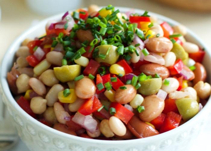 Ricetta insalata di fagioli con vinaigrette