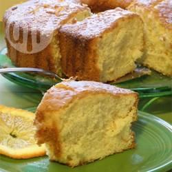 Torta chiffon all'arancia