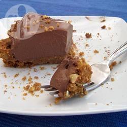 Crostata con crema al tofu e cioccolato