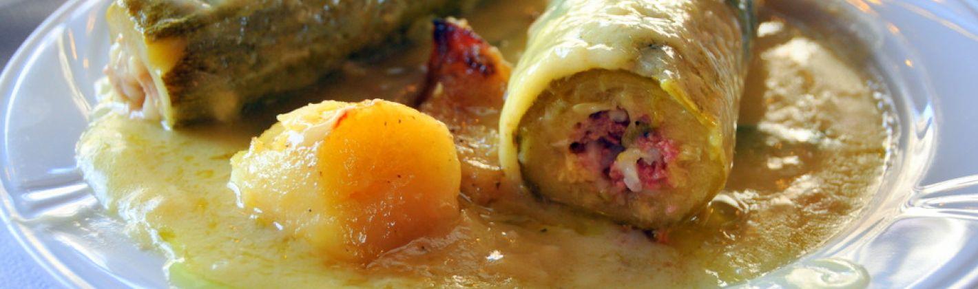 Ricetta zucchine ripiene con le patate