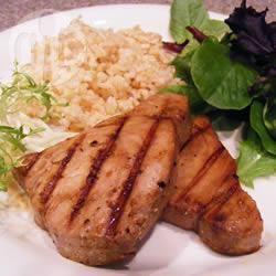 Tonno alla griglia in salsa teriyaki