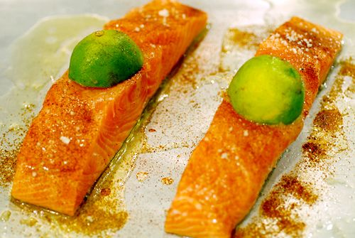 Ricetta salmone fresco al lime