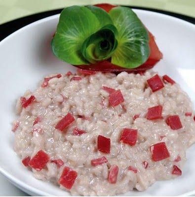Ricetta risotto con bresaola