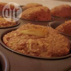Muffin con mele e crusca