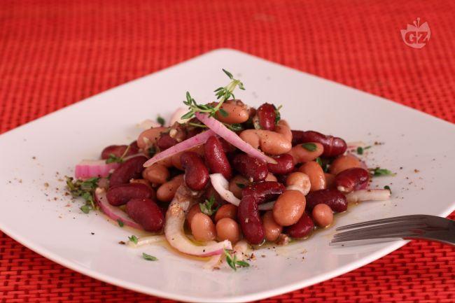 Ricetta insalata di fagioli alla romana