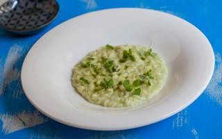 Ricetta risotto al wasabi e basilico, mantecato al cioccolato bianco ...