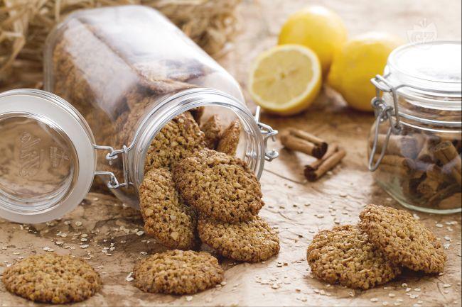 Ricetta biscotti ai fiocchi d'avena
