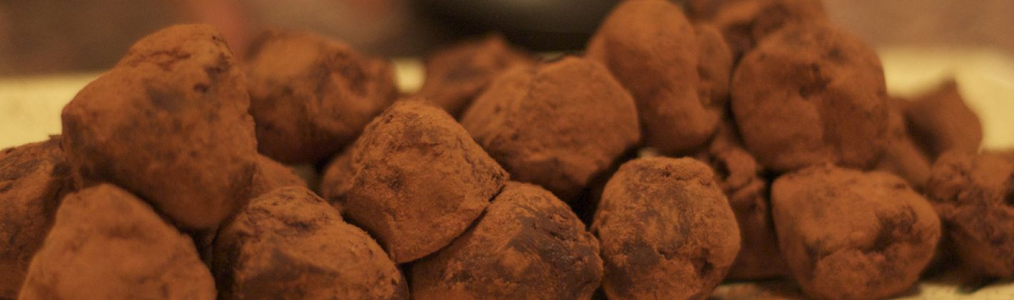 Ricetta tartufini al caffè e cioccolato