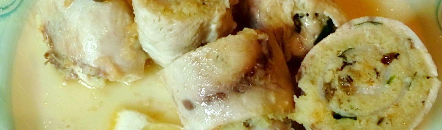 Ricetta involtini di pesce spada agli agrumi