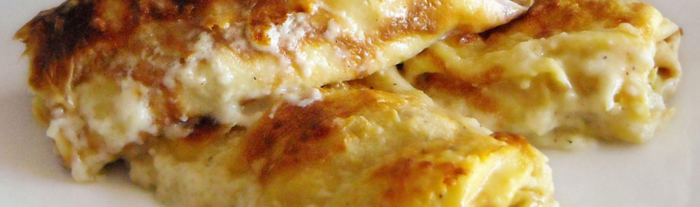 Ricetta lasagne con formaggio e noci senza besciamella