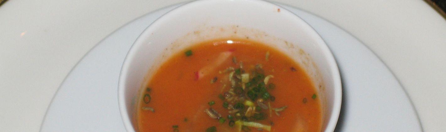 Ricetta crema di carote e finocchi