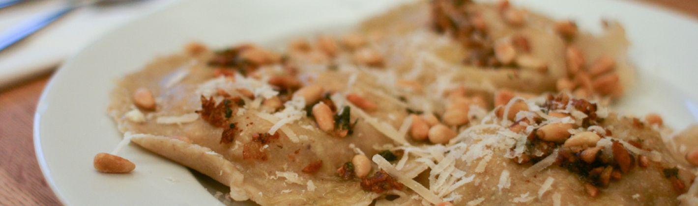 Ricetta ravioli di castagne