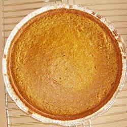 Pumpkin pie (torta di zucca americana)