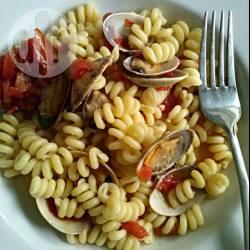 Pasta alle vongole e pomodorini