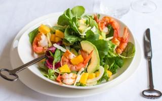Ricetta insalata esotica ai gamberi