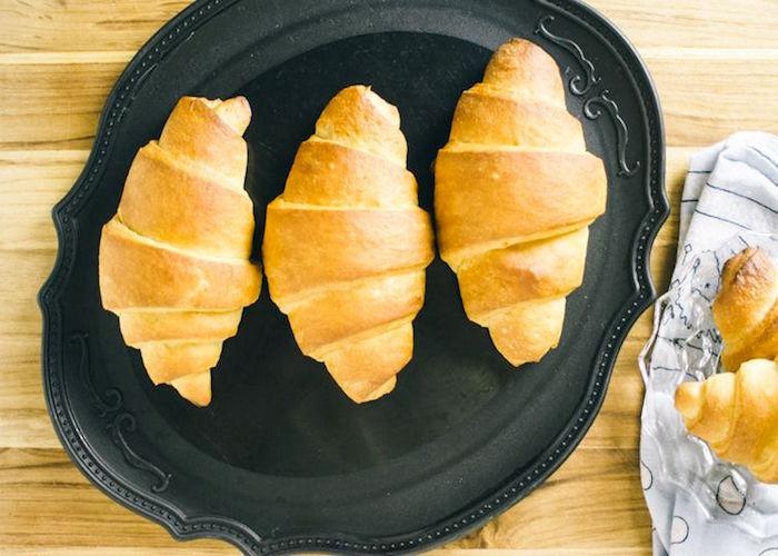 Croissant vegano