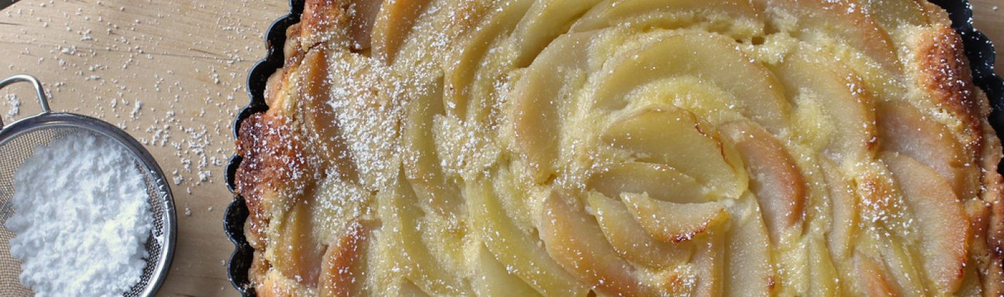Ricetta crostata di pere alle spezie