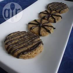 Biscotti di avena al latte e miele