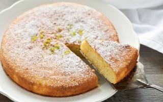 Ricetta torta al limone e mandorle
