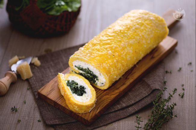 Ricetta rotolo ricotta e spinaci