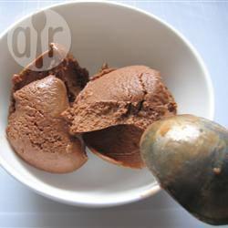 Yogurt gelato al cioccolato
