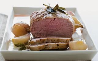 Ricetta filetto di vitello al forno con scalogni