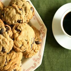 Chocolate chip cookies (biscotti americani con gocce di cioccolato ...