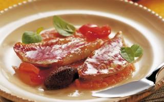 Ricetta filetto di triglia e pomodorini