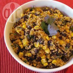 Quinoa con fagioli e cumino