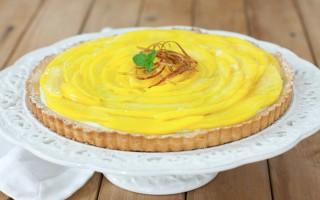 Ricetta crostata al mango, cioccolato bianco e sedano