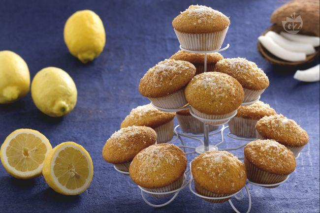 Ricetta muffin al cocco e limoncello