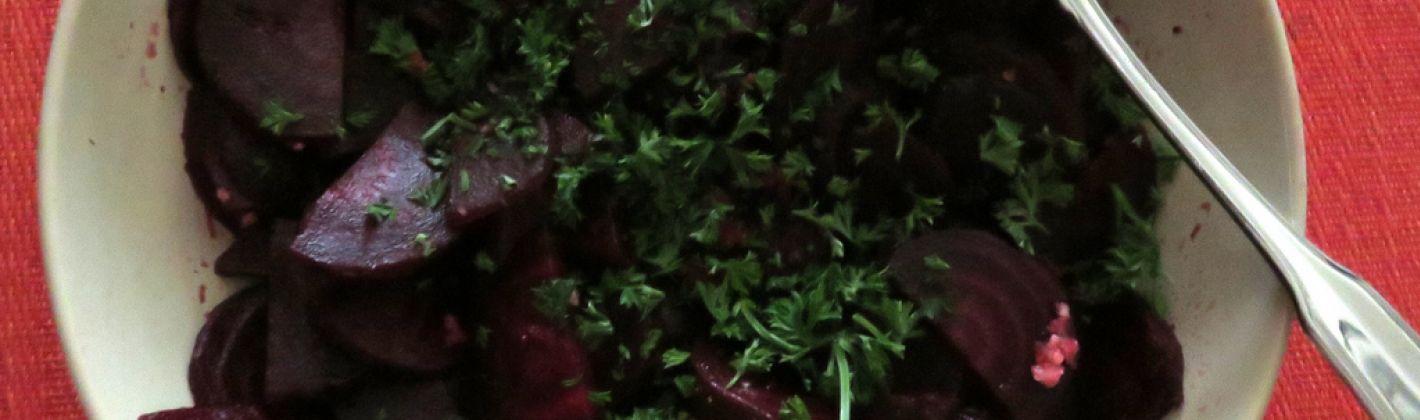 Ricetta barbabietole con cipolle
